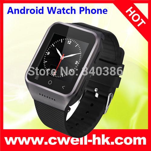 New IKWEAR IK8 Smart Watch Phone Mtk6577 dual core android 4.0 bluetooth GPS Wifi Playstore Skype camera 5.0 MP wrist phone(China (Mainland))