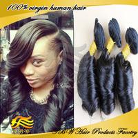 Brazilian Virgin Hair Weaves Romance Curl 3pcs Lot Top Beauty Hair Products Unprocessed Human Hair Bundles UPS Free Shipping
