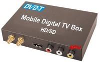 DVB-T CAR DIGITAL TV RECEIVER (HD/SD) ,dvb-t receiver HDMI Car TV tuner Support MPEG-1 / -2 / -4, H.264 decoder, fast shipping