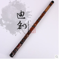 Calls advanced professional - black bamboo flute - musical instrument -  Free shipping