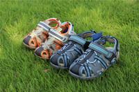 Big promotion 2014 summer children sandals for boys close toe close open heel GOOD QUALITY  kids sandals size 24-32 boy shoes