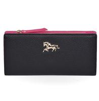 6 colors new 2014 women's PU leather zipper clutch bag long leather Wallet Ladies designer Purse Checkbook Handbag drop shipping