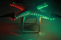 2014 New Bright Updated Version Improved LED Light Pilot Lamp Light Kit Strip For DJI Phantom2 Vision In Nighttime Flight
