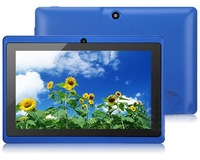 Free shipping New Arrive 7 inch tablet android 4.0 ATM7013 1.2G 512MB 4GB WIFI Camera Capacitive screen Q88 HDMI tablet pc