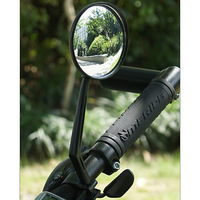 bike bicycle rear view mirror reflective mirror thighed safety mirror convex mirror bicycle accessories