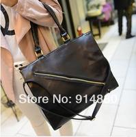 Free Shipping Western Fashion  New Style PU Handbag / Messenger Bags