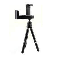 2014 New Pocket Mini 360 Rotatable Stand Holder Flexible Tripod for iPhone Mobile Phone and Digital Camera with Phone Clip