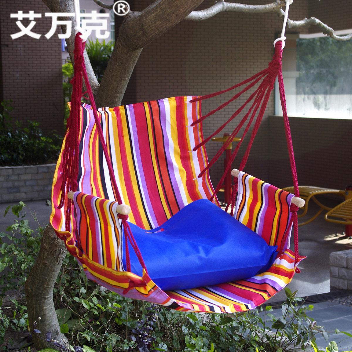 Indoor hammock hanging chair child adult single swing hammock chair(China (Mainland))
