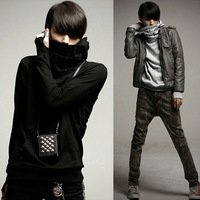 Free shipping 2014 Spring autumn new hoodiesEven gloves men's casual sweater M-XXL