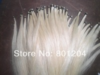 100 Hanks Stallion Horse tails, Violin bow hair in hanks( 81cm & 6Grams/Hank)