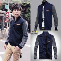 Free shipping 2014 Spring autumn new hoodiesSlim'sNewSlim Korean men's jackets warm sweater M-XXL