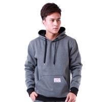 Free shipping 2014 Spring autumn new hoodiesThick velvet men's jackets M-XXL