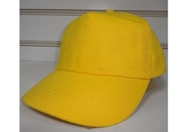 100% cotton 5 panel cap baseball cap cheap promotional cap without any logo with half reinforcement