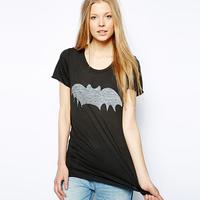 2014 new Richcoco normic fashion casual fashion logo print o-neck short-sleeve T-shirt d347