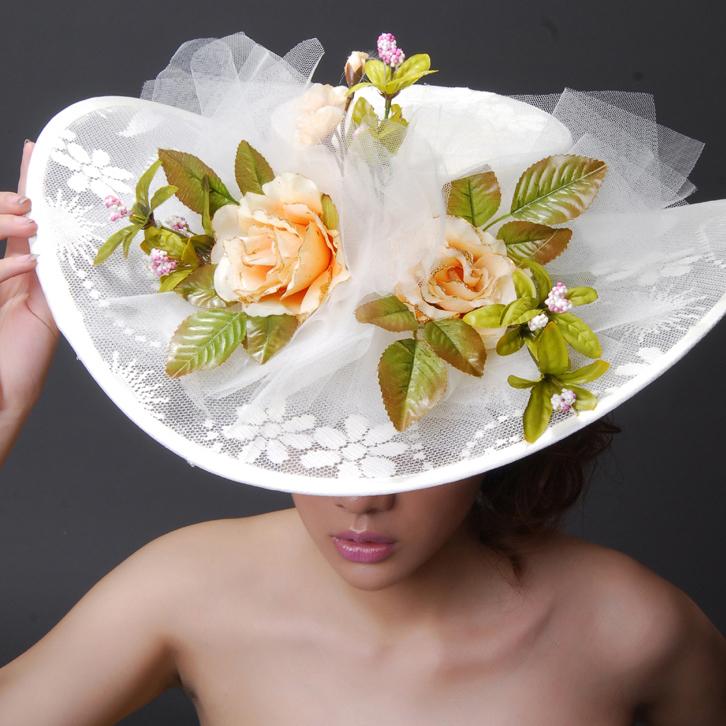Цветы на шляпы