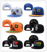 Music headphone adjust snapback baseball cap hiphop hip-hop popular love cap