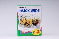 Fujifilm Instax Wide Film ( 20 sheets ) Plain Edge Instant Photo Camera 200 210 Film