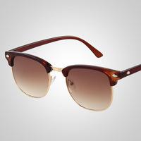 New 2014 Fashion Vintage Sunglasses Women Brand Designer Metal Frame Retro Sunglasses Eyewear oculos de sol