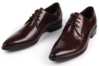 spring and autumn fashion breathable man genuine leather shoes fashion pointed toe fashion shoes Oxfords