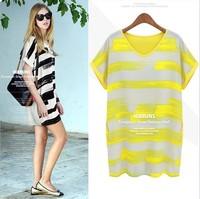 Женская футболка spring and summer women's fashion cartoon glasses cat print t-shirt t shirt top