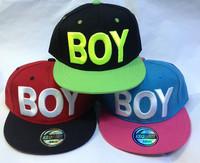 Hot New Fashion BOY Snapback Hats Hip-Hop adjustable bboy Baseball Cap hat