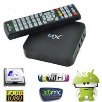 MX TV Box Midnight MX2 XBMC Fully TV Killer Android 4.2 XBMC Midnight Preinstalled Amlogic 8726-MXMX XBMC TV Box