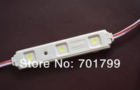 20PCS 5050 SMD LED module;high bright;0.72W;IP65;DC12V;60-66lm;size:83.9mm*15.4mm*5.5mm