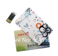 Free full color print logo credit card USB pendirve 2GB,4GB,8GB,16GB,32GB
