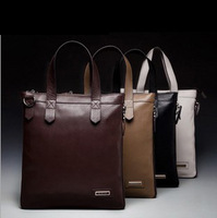 High Quality Genuine Leather Handbag Men's Business Casual Leather Briefcase Shoulder Bag Fashion Messenger Bag Laptop Bag BG163