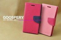 MERCURY Goospery Flip Leather Case for Samsung Galaxy S 4 (I9500) with Soft Holder Card soft Tpu holder with stand Slot