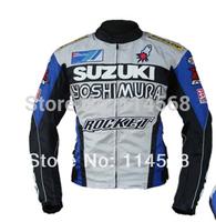 free shipping road Motorcycle Jackets SUZUKI Racing Jacket CE certification