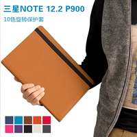 Galaxy Note pro 12.2 leather case, 360 Rotatory leather case for samsung P900 P901 samsung Galaxy Note pro 12.2 rotatory case