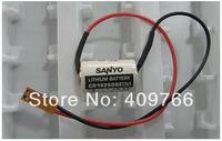2pcs/lot New Sanyo CR14250SE 850mAh 3V FOR SANYO PLC Lithium Battery batteries with plug Free Shipping