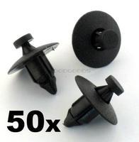 In Stock New OEM 50x for Nissan Plastic Rivet Fastener Clips- trim panels, bumper, fascias, linings Free Shipping