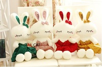 free shipping Love rabbit doll can did ballet queen plush toy bunny rabbit  toys for children stuffed plush kawaii