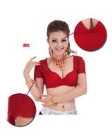 Belly Dance Top Short-Sleeve Tulle Bra S110