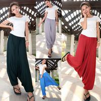 2014 women's Nepal big crotch pants Big crotch pants harem pants casual trousers yoga bloomers radish skorts pants