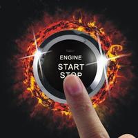 Free Shippig Engine Start/Stop System-One Key Start Button-3100S