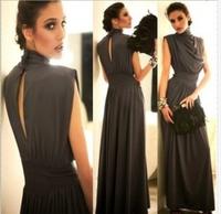 Hot sale summer dress 2014 cocktail dresses/  vestidos de fiesta sleeveless  elegant  maxi dresses free shipping