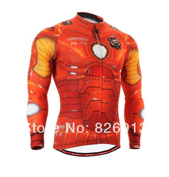Free shipping!men's outdoor sportswear cycling wear thin cycling jacket Long sleeve shorts Ms ski clothing motorcycle jacket(China (Mainland))