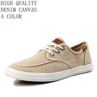 ROSAN New 2014 men shoes Washing Board Korean Style canvas shoes ,men sneakers lace-up flats men's shoe 4 color