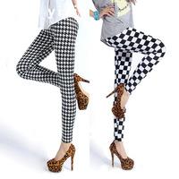 21 Designs!Spring Summer New Stretched Fashion Leopard Striped Plaid Print Leggings For Women Sexy Leggings Slim Yoga Pants