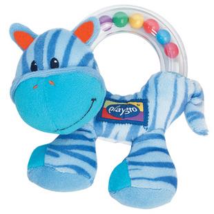 Playgro blue horse handbell Developmental & Educational toys rattle toys baby child gift 0-12months free shipping(China (Mainland))