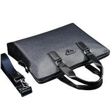 Luxury Brand designer PVC handbag Fashion men shoulder messenger bag Classic Durable Business Briefcase(China (Mainland))