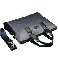 Luxury Brand designer PVC handbag Fashion men shoulder messenger bag Classic Durable Business Briefcase