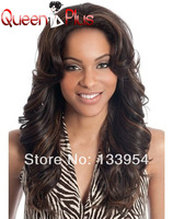 Queen hair products  5a wave hair  130% density Brazilian Human Hair lace front wig & glueless full lace wig  free shipping