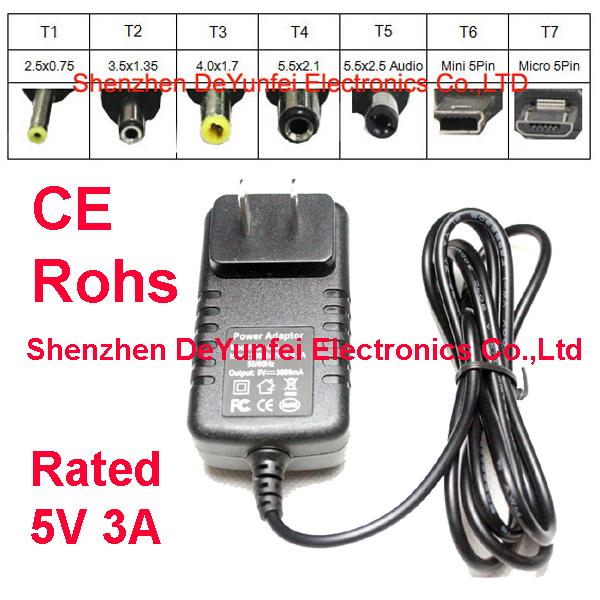 5v 3a micro usb caricabatterie per quad core tablet pc la-530 la530