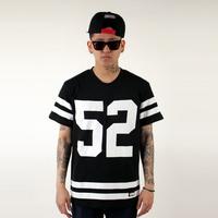 2014 new arrival hiphop jazz dancer beach hiphop b boy 52 street hip hop trend cotton big short sleeve  Tee fashion cool men
