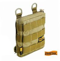Tactical a12 debris bag molle bag accessories combination accessory bag edc waist pack cordura
