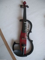 Free shipping 4/4 Electric Violin Powerful Sound High quality Solid wood Silent